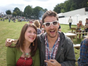 Cheryl with Frank Turner
