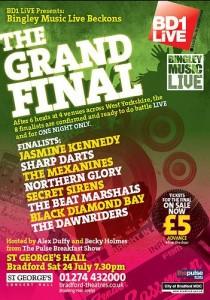 Bingley Music Live final