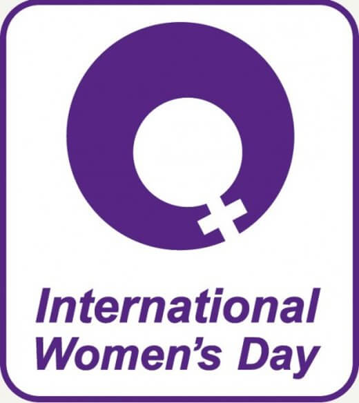 International Women Day logo