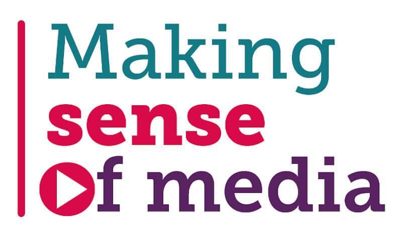 Making sense of media text logo