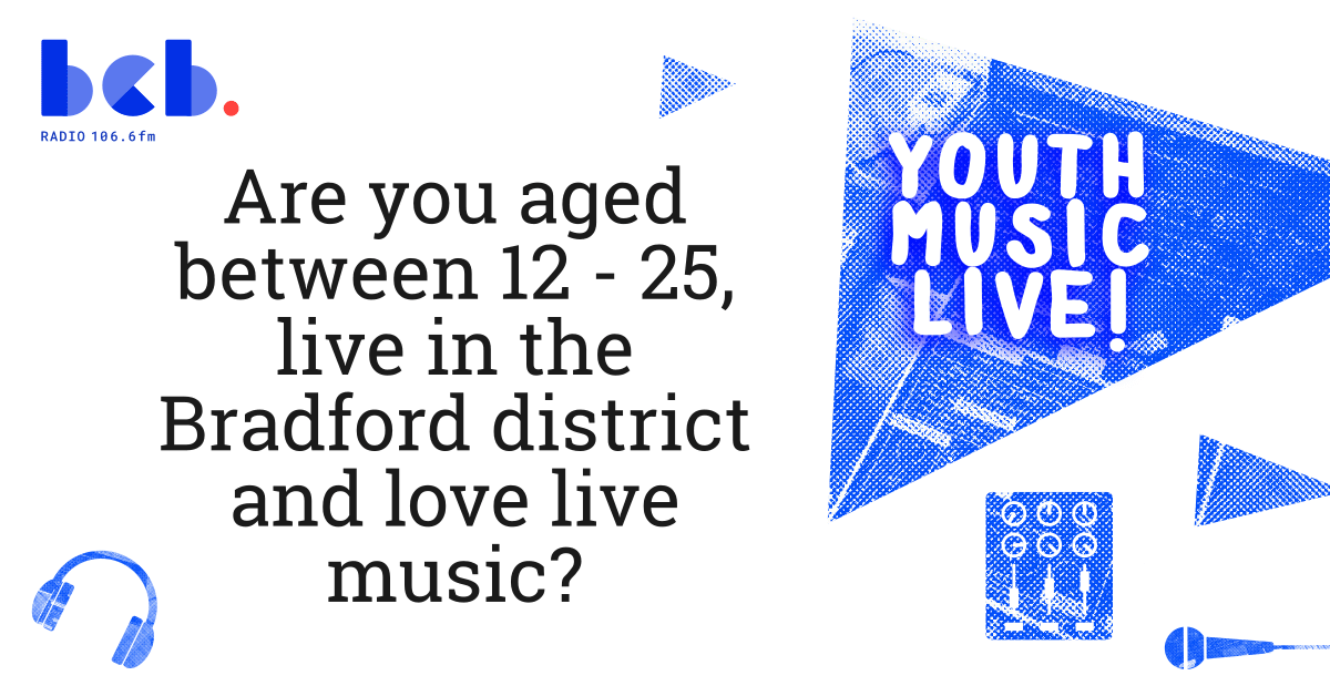 an advertisement looking for young people interested in music