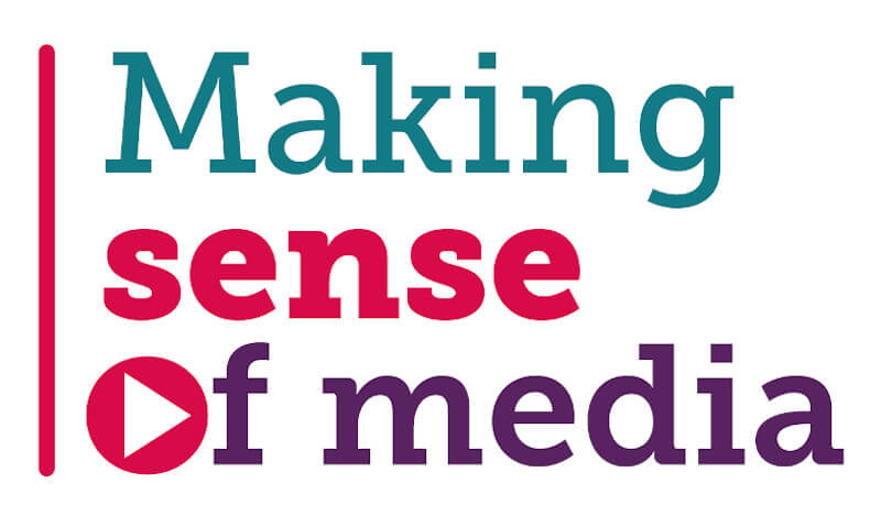 Making sense of media text logo