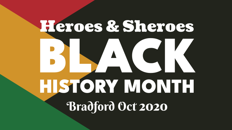 Black History Month 2020 Heroes and Sheroes logo