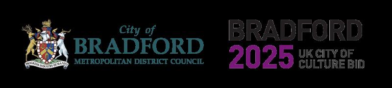 Bradford Council and Bradford 2025 Culture Bid logo
