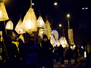 lanterns on parade