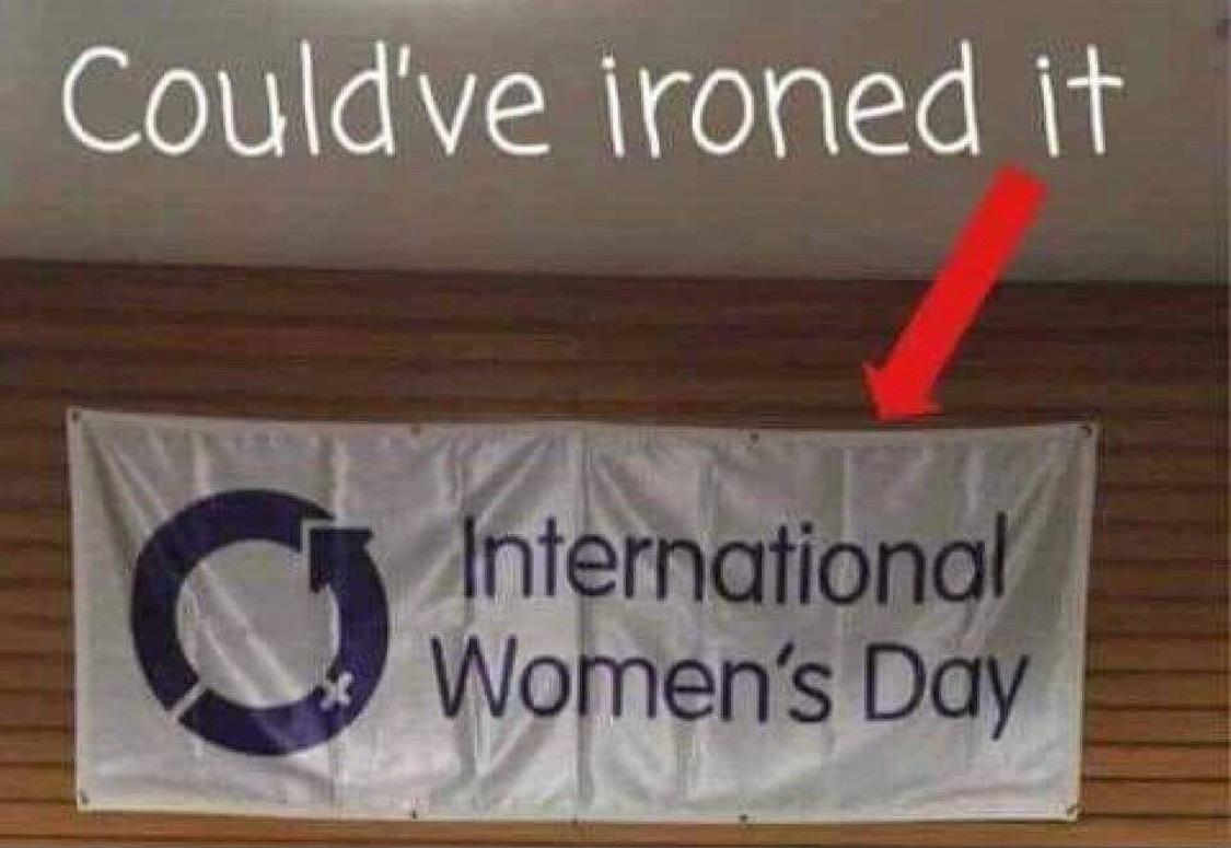 a wrinkly flag